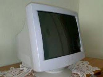 Monitor color tub catodic