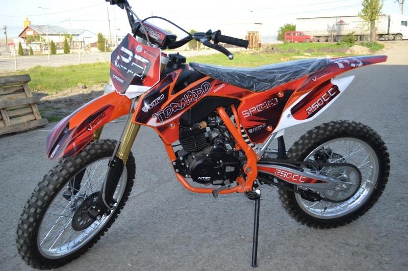 Moto Cross Nitro TORNADO 250cc-2