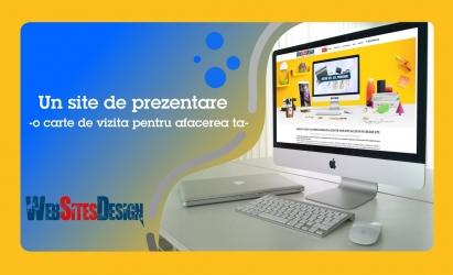Oferim toate serviciile din gama de web design- realizare site web, ma