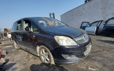 Opel Zafira B facelift 1.7CDTI A17DTR Euro5, 2011