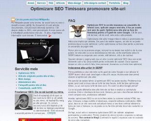 Pagini de internet, web design si SEO, administrare site