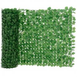 Paravan-plasa - imitatie gard viu protectie vizuala decoratie 100 x 30