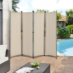Paravan solar/Separator exterior Duna, protectie vizuala, 215 x 170 cm