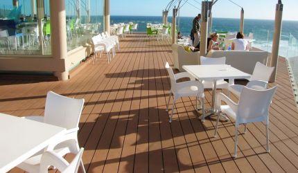 Pardoseli rezistente pentru exterior, Decking WPC și lemn termotratat