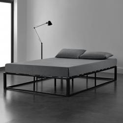 Pat Anastasia, rama metalica, 140 x 200 cm, negru
