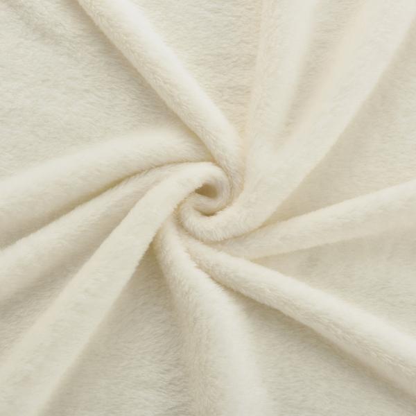 Patura Velvet,150 x 200 cm, 280g/m², 30 °C, poliester, crem -4