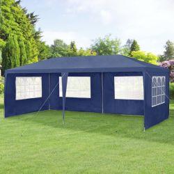 Pavilion AAGP-9603, 600 x 300 x 255 cm, polietilena, albastru inchis