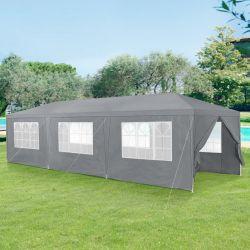 Pavilion AAGP-9604, 900 x 300 x 255 cm, polietilena, gri inchis