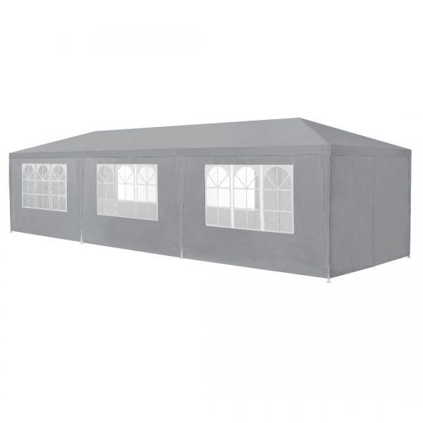 Pavilion AAGP-9604, 900 x 300 x 255 cm, polietilena, gri inchis-3