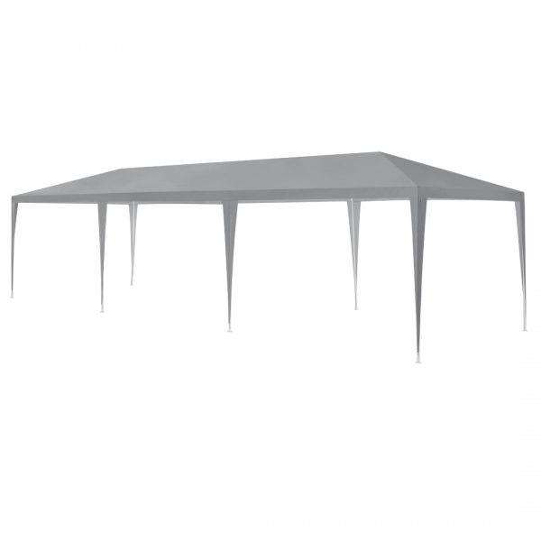 Pavilion AAGP-9604, 900 x 300 x 255 cm, polietilena, gri inchis-4