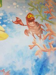 Pictura pe pereti, camere copii, gradinita, tablouri, arta murala