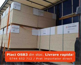 Placi OSB din stoc sau la comanda. Pret importator direct. Livrare.
