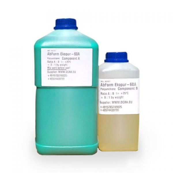 Poliuretanica Bicomponente resina pentru matrițe Cauciuc 5 kg AbForm-1