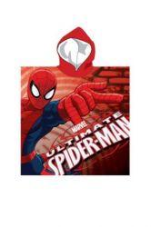 Poncho baieti Spiderman Spidey 55×110 cm