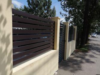 Porti si Garduri din Aluminiu - sistemul complet cu montaj simplu