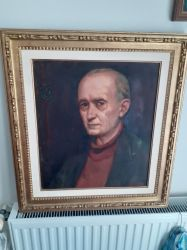 Portretul lui Banffy Istvan semnat MIKLOSSY GABOR