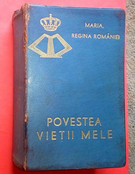 Povestea vietii mele, Regina Maria-1