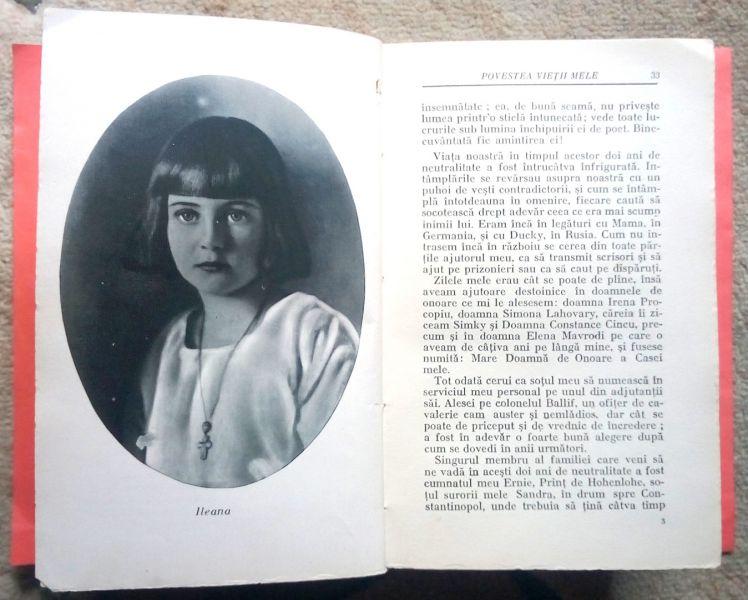 Povestea vietii mele, Regina Maria-6