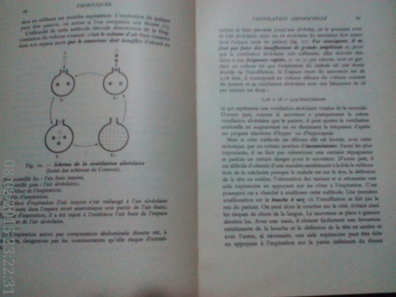 Premiers secours dans les detresses respiratoires ,Cara, 1967-4