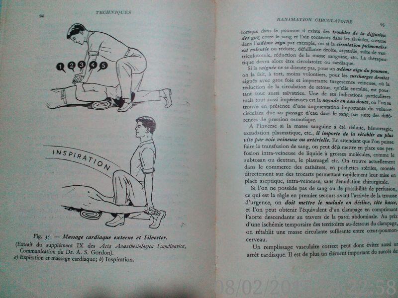 Premiers secours dans les detresses respiratoires ,Cara, 1967-5