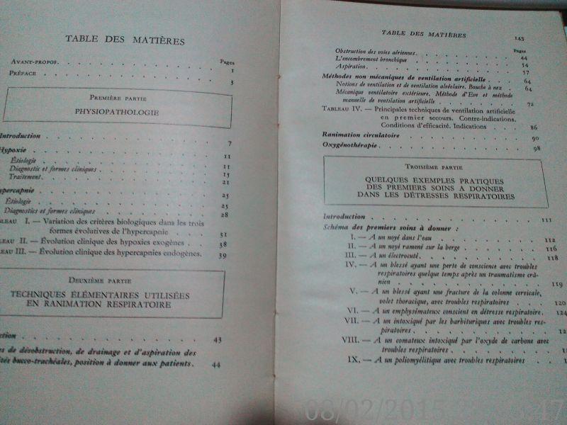 Premiers secours dans les detresses respiratoires ,Cara, 1967-7