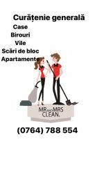 Prestări servicii curățenie