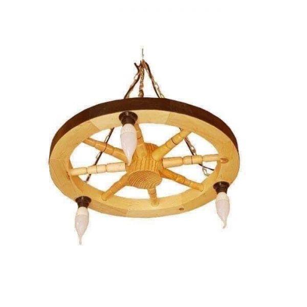 Produc lustre rustice din lemn -2
