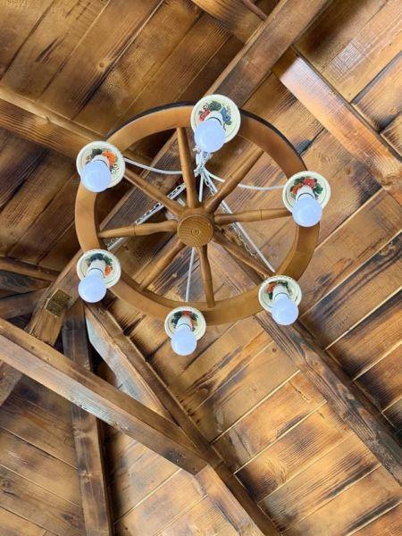 Produc lustre rustice din lemn -6