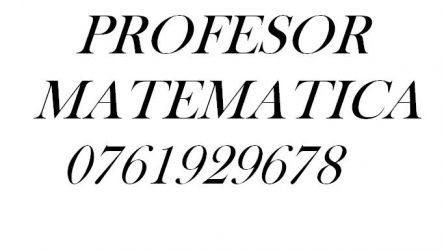 Profesor matematica online.