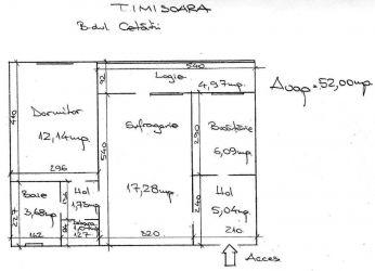 Propietar apartament 2 camere