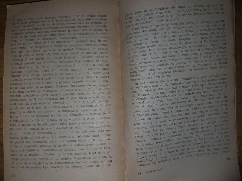 Proza literara - M. Eminescu (edit. Minerva),1981-6