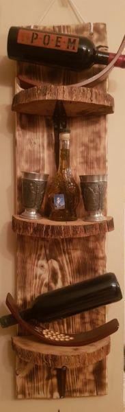 Raft hand made, din lemn-4
