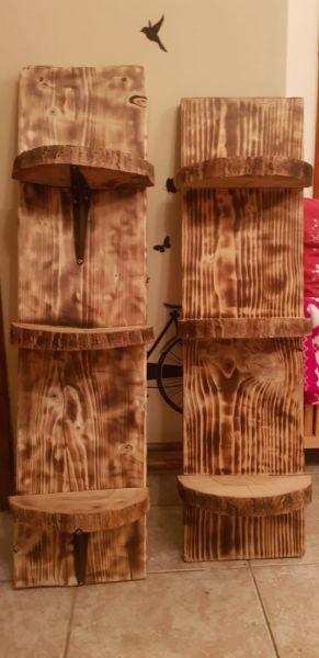 Raft hand made, din lemn-5