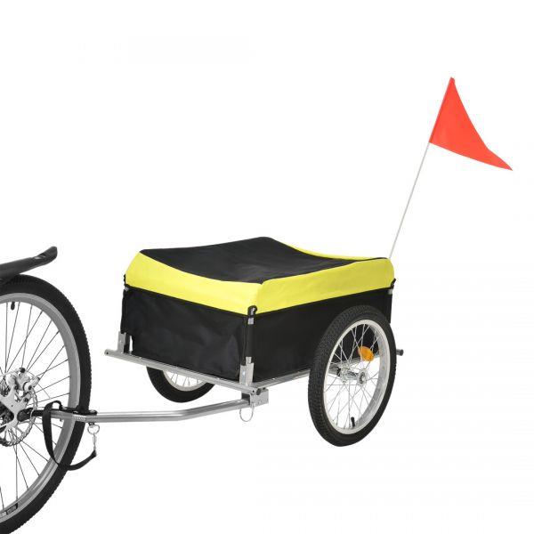 Remorca bicicleta transport bagaje ABBT-3151, 130 x 65 x 50 cm-2