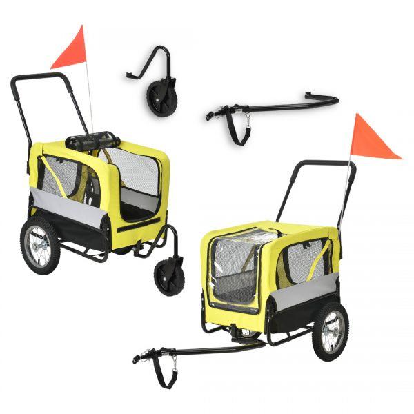 Remorca bicicleta transport caine ABBT-315x, 143 x 67 x 96 cm-1