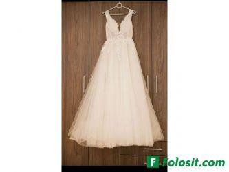 Rochie de mireasa suberba, stil printesa