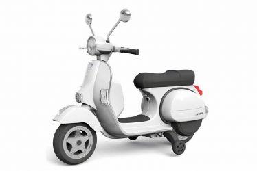 Scuter electric pentru copii Piaggio Vespa Roller 70W 12V PREMIUM