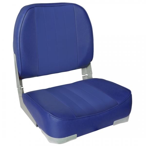 Set 2 scaune Magelan 1, 490 x 400 x 390 mm, imitatie piele, albastru-2