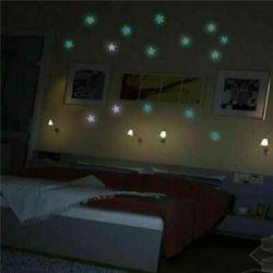 Set 30 stelute florescente luminoase pe tavan , decor univers pe tavan