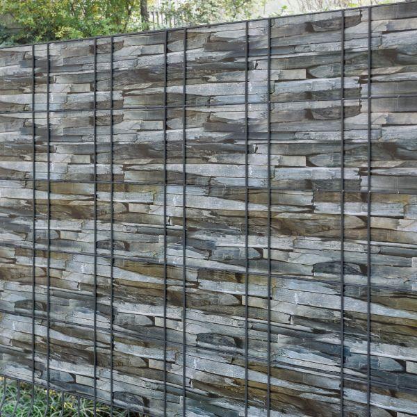 Set 4 bucati role folie gard protectie vizuala, 4 x 35 m/ 7 m², PVC-3