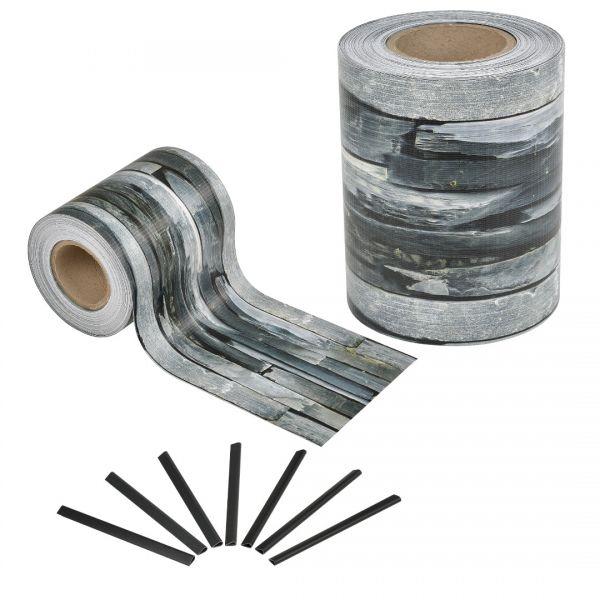 Set 4 bucati role folie gard protectie vizuala, 4 x 35 m/ 7 m², PVC-5