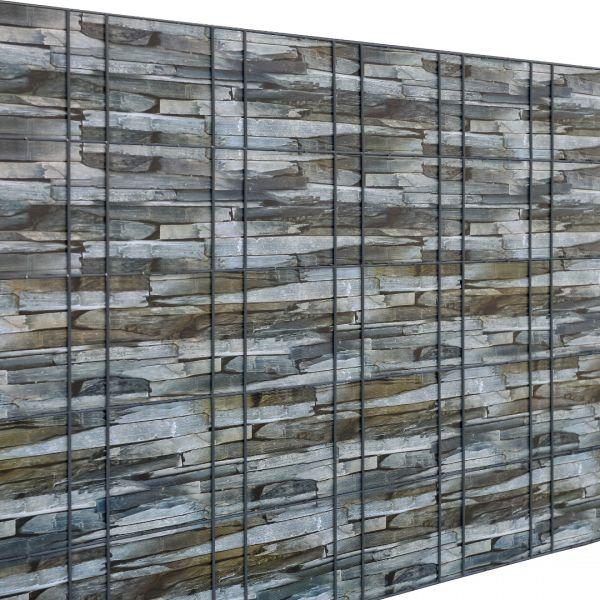 Set 4 bucati role folie gard protectie vizuala, 4 x 35 m/ 7 m², PVC-6