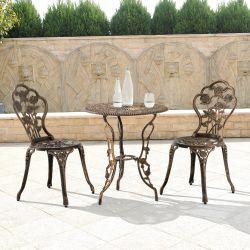 Set bistro Dina, masa rotunda 60 x 67 cm, scaun 42 x 83 cm, metal