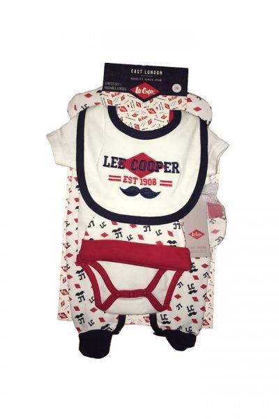 Set cadou bebelusi 5 piese Lee Cooper-2