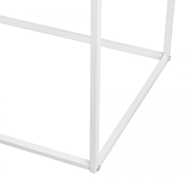 Set doua bucati masa tava Simple,metal, alb-2