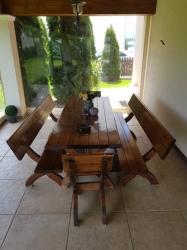 Set masa terasa din lemn de vanzare