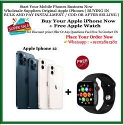 Sigilat nou iPhone 12 pro max + Extra Apple Watch Series 5 40mm (FIEȚI