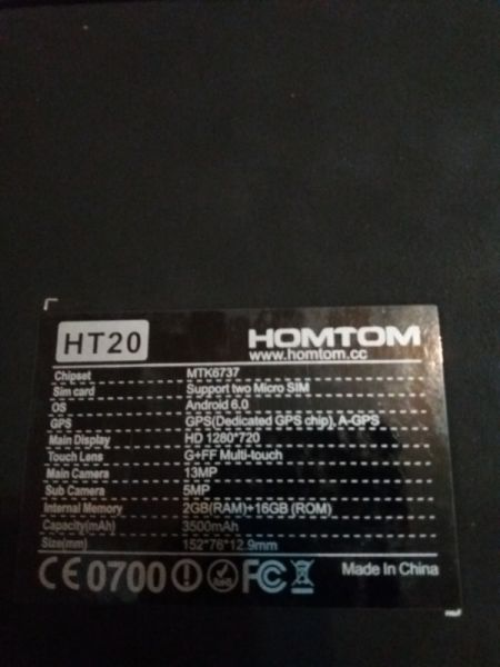 Smartphone  HOMTOM-5
