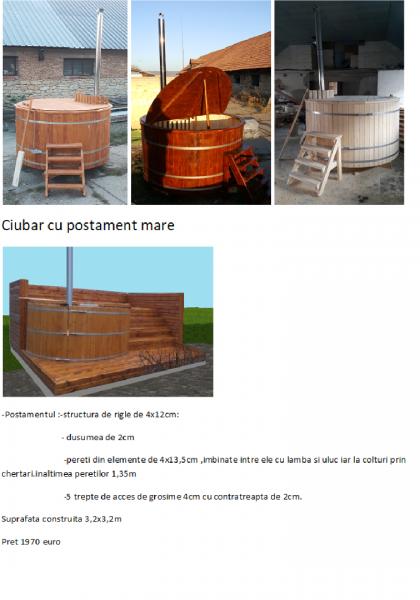 SPA din lemn,ciubar din lemn,,sauna din lemn,cabina de dus din lemn,ch-2