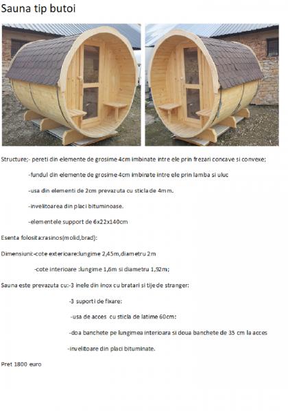 SPA din lemn,ciubar din lemn,,sauna din lemn,cabina de dus din lemn,ch-4